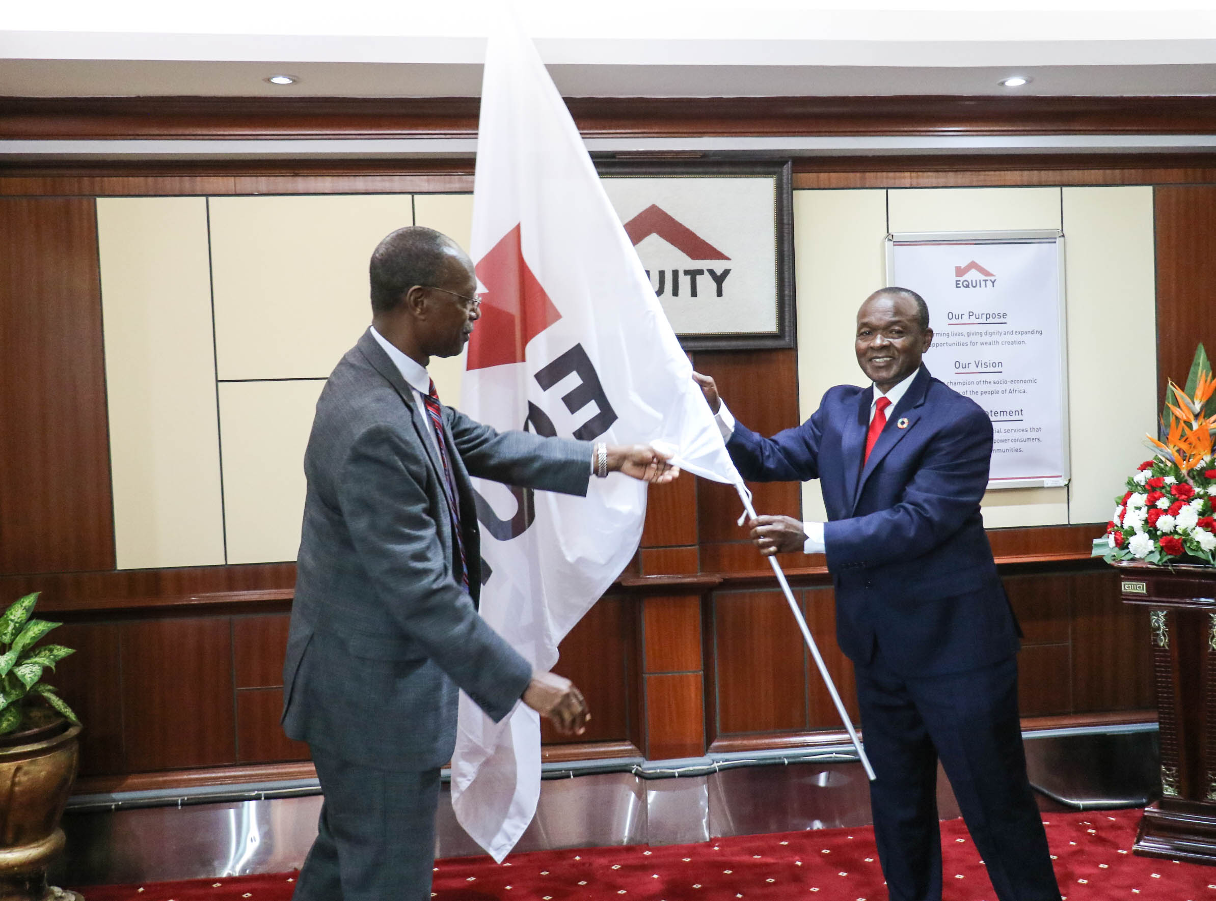A career diplomat, Ambassador Mwencha takes over from Prof Isaac Macharia who has been appointed Equity Group Board Chairman